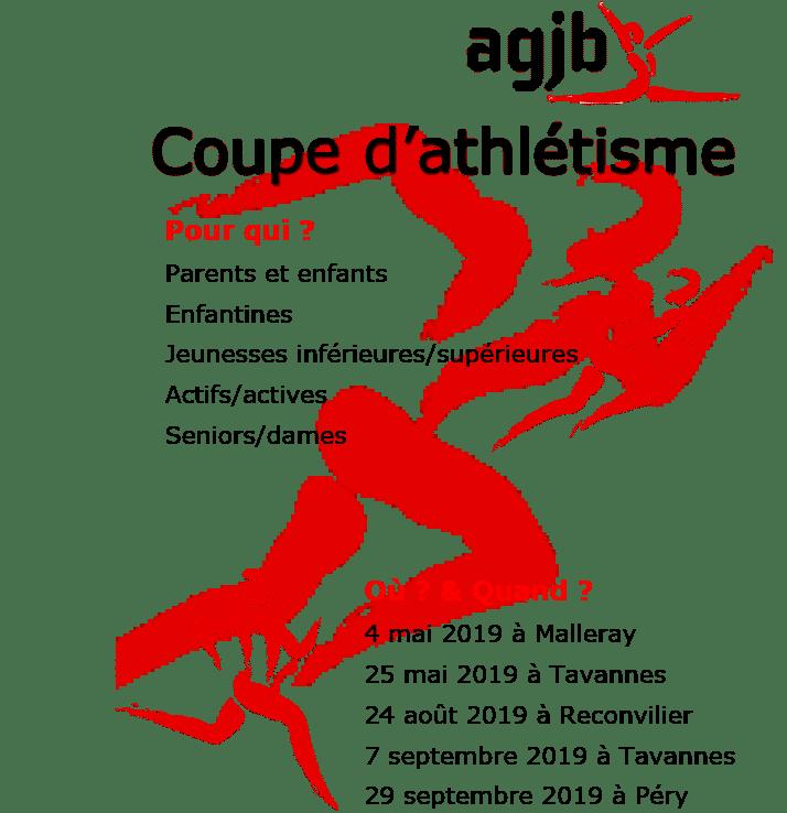 Coupe Jeunesse d'Athlétisme du Jura Bernois 2019